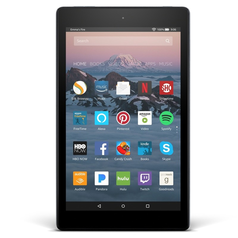 Amazon Fire HD 8 Tablet with Alexa 16GB Black