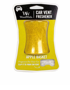 Woodwick Car Vent Apple Basket Green Car Freshener