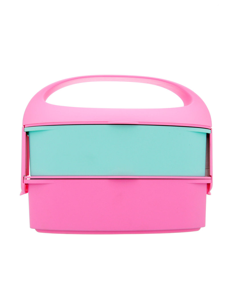 G.Lunch Bento Bubble Gum Pink Lunch Box