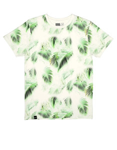 Dedicated Bright Leaves Off-White T-Shirt