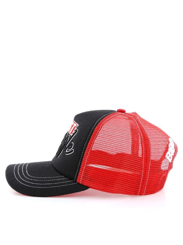 B180 Trust Your Struggle Unisex Cap Black/Red