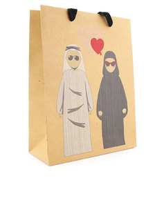 BUMBLE & MOUSE GIFT BAG CITIZEN HEARTS