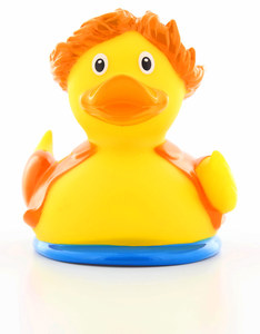 Lilalu Surfer Rubber Duck-Design