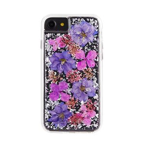 Case-Mate Karat Petals Case Purple for iPhone SE [2nd Gen]