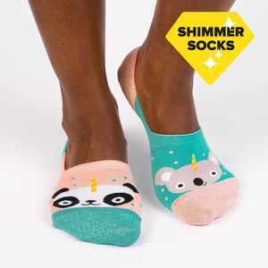Sock It To Me No Show Beary Sweet Socks