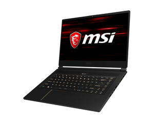 "MSI Gaming GS65 8RF Stealth Thin 2.2GHz 8th gen Intel Core i7-8750H 15.6"" Black Notebook"