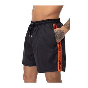 Hype Warning Tape Men'S Shorts Black/Orange L