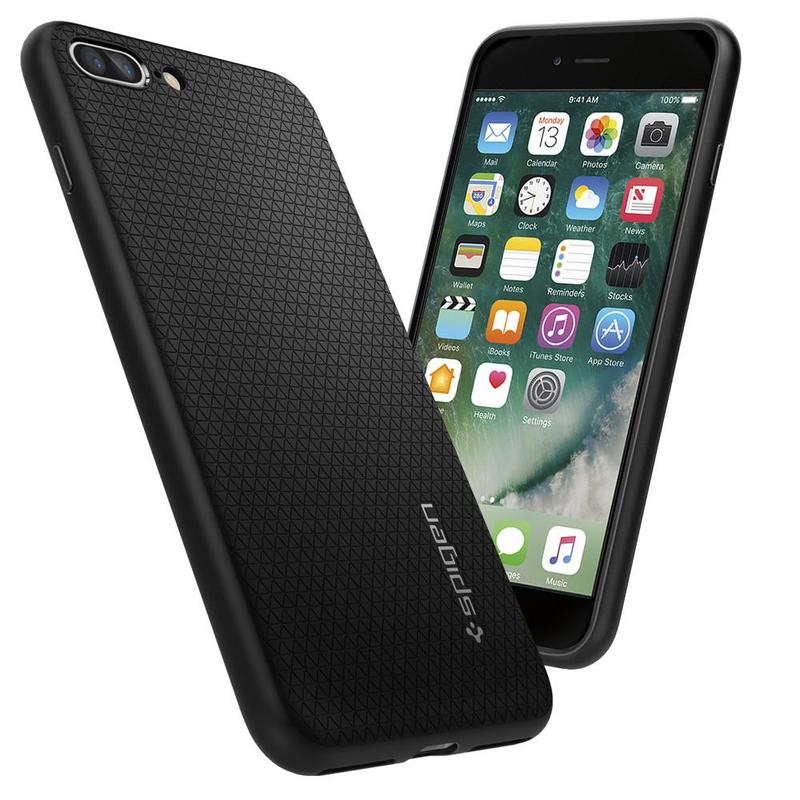 iphone 8 spigen case black