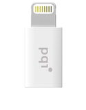 Pqi I-Dongle Micro Usb To Lightning Adaptor White