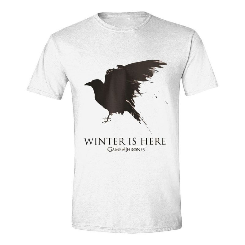 1d5c2dd8 Time City Game Of Thrones Winter Is Here Men's T-Shirt White