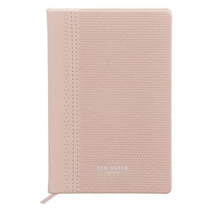 Ted Baker A5 Brogue Notebook Pink