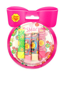 Chupa Chups Lip Balm Ornament Bubble 4Pcs X4.0G