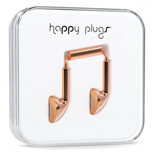 Happy Plugs Earbud Rose Earphones