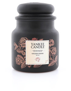 Yankee Candle GC Jar Golden Rose Medium
