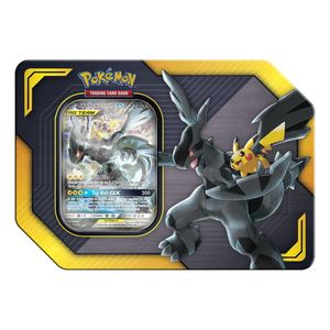 Pokemon TCG Trading Cards Tag Team Tin Pikachu & Zekrom GX
