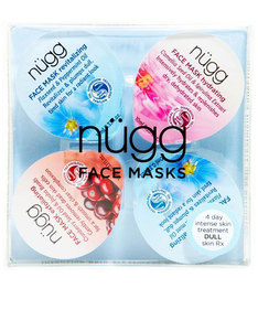Nugg Beauty 4 Day Radiance Boost: Multi-Masking Set For Dull Tired Skin 10ml [4 Pack]