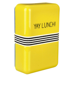 Happy Jackson Lunch Box Yay Lunch Yellow