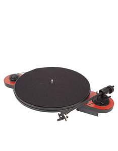 Pro-Ject Elemental Phono USB Red & Black Turntable