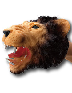 Foluck Lion Dark Brown Hand Puppet