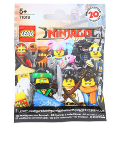 Lego minifigures The Lego Ninjago Movie 71019