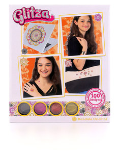 Glitza Fashion Mandala Oriental (100 Designs)