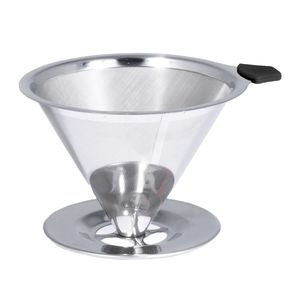 Bialetti Coffee Pour Over Stainless Steel [2 Cup Capacity]