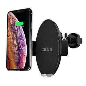 Zendure Q7 10W Wireless Charger Car Mount with Qi-Black