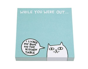 Ohh Deer While You Were Out Bum Sticky Notes