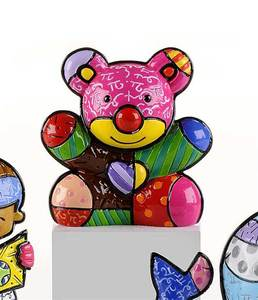 Romero Britto Mini Fun Bear Figurine