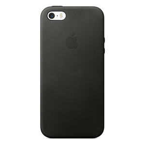 Apple Leather Case Black iPhone S3