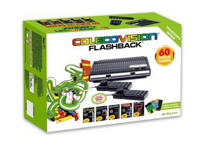ColecoVision Flashback Classic Console With Built-In 60 Games