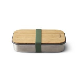 Black And Blum Sandwich Box Stainless Steel Olive