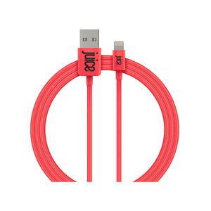 Juice Lightning Cable Round 1m Coral