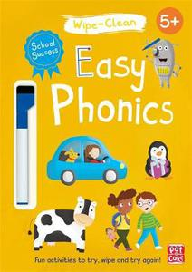 School Success: Easy Phonics: Wipe-clean book with pen