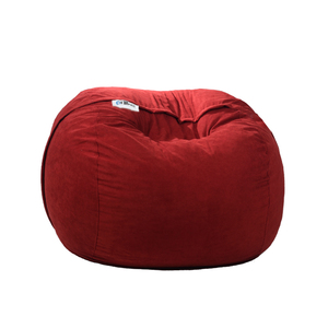 Ariika Duo Sac Burgundy Sabia Bean Bag