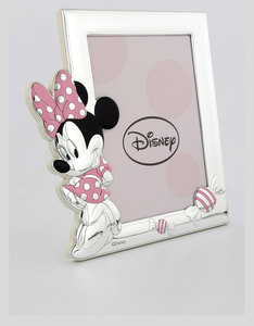 Disney Minnie Mouse Photo Frame Silver/Pink [13x18cm]