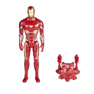Hasbro Avengers Titan Hero Power FX Iron Man Figure 12 Inch