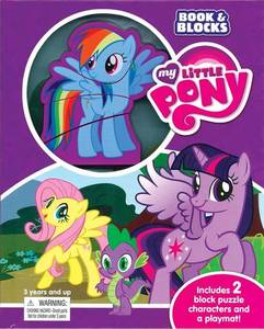 My Little Pony Book and Blocks