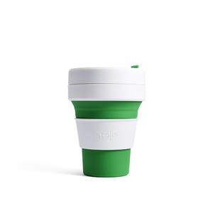 Stojo Pocket Collapsable Cup Green 355ml