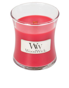 Woodwick Mini Raspberry Yuzu Red Small Candle
