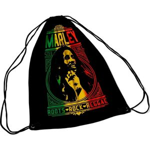 Bob Marley Roots Rock Draw String Bag