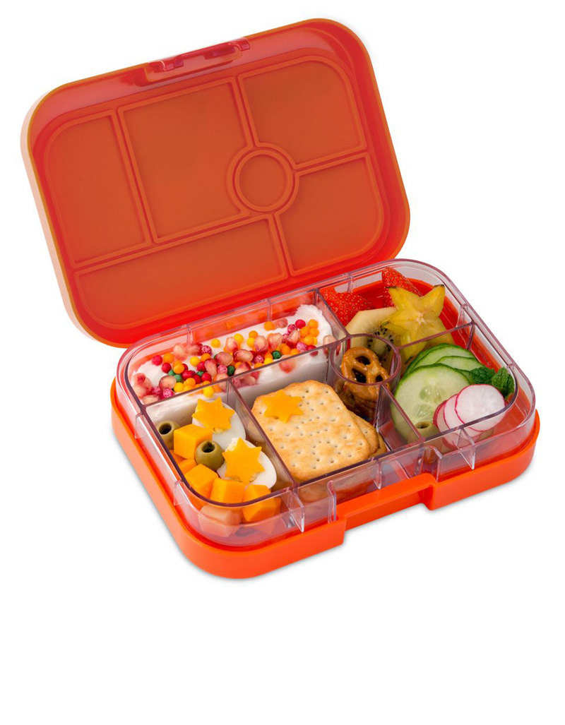yumbox papapya 6 compartment lunch box lunch boxes lunch bento boxes stationery virgin. Black Bedroom Furniture Sets. Home Design Ideas