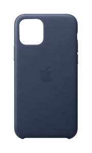 Apple Leather Case Midnight Blue for iPhone 11 Pro