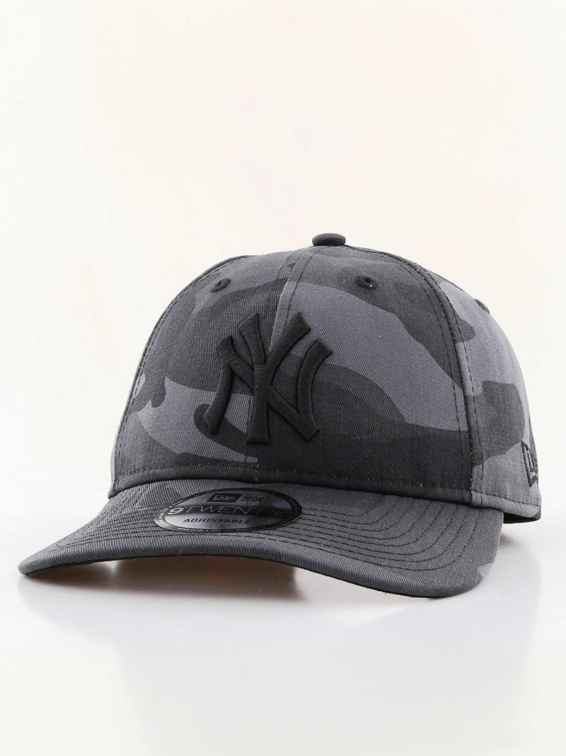 New Era Camo Packable NY Yankees Cap Midnite Camo Black  33d144038e5