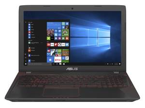 "ASUS FX553VD-FY098T 2.8GHz i7-7700HQ 15.6"" Black Notebook"
