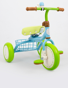 Tricycle Macaron Trike Blue & Green