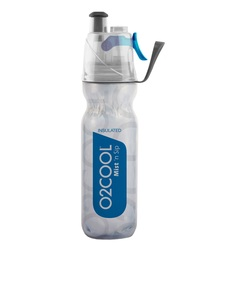 O2Cool Dark Blue Arcticsqueeze Mist N Sip 18 Oz Water Bottle
