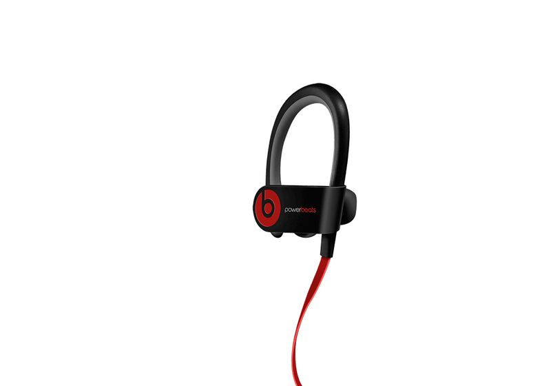 Beats Powerbeats 2 Black Wireless Earphones