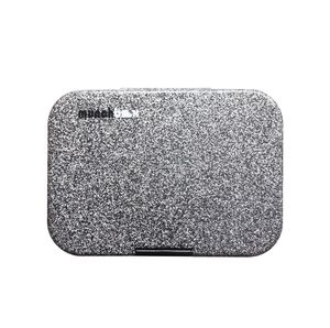 Munchbox Sparkle Black Mega3 Artwork Tray Black Lunchbox