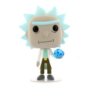 Funko Pop Animation Rick & Morty Rick with Crystal Skull Vinyl Figure